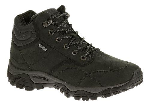 Mens Merrell Moab Rover Mid Waterproof Hiking Shoe - Black 12