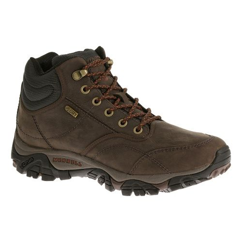 Mens Merrell Moab Rover Mid Waterproof Hiking Shoe - Espresso 15