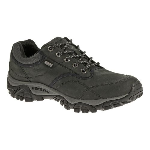 Mens Merrell Moab Rover Waterproof Hiking Shoe - Black 7.5