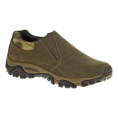 Mens Merrell Moab Rover Moc Hiking Shoe - Kangaroo/Mossy Oak 8