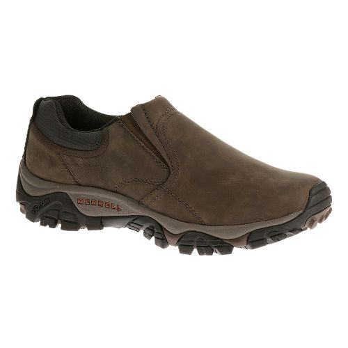 Mens Merrell Moab Rover Moc Hiking Shoe - Kangaroo/Mossy Oak 10.5