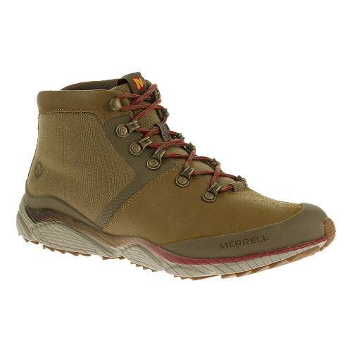 Mens Merrell AllOut Drift Hiking Shoe - Kangaroo 11.5