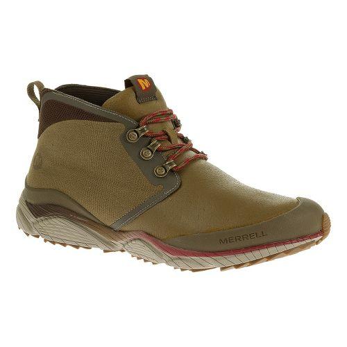 Mens Merrell AllOut Rove Hiking Shoe - Kangaroo 8