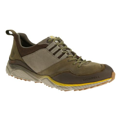 Mens Merrell AllOut Defy Hiking Shoe - Boulder 7