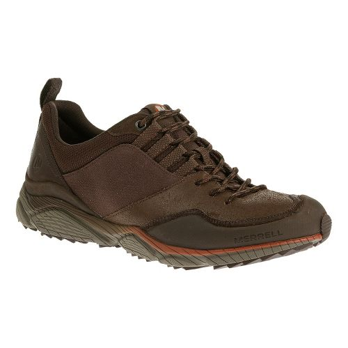 Mens Merrell AllOut Defy Hiking Shoe - Deep Taupe 10.5