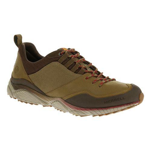 Mens Merrell AllOut Defy Hiking Shoe - Kangaroo 11.5