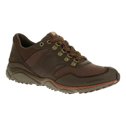 Mens Merrell AllOut Evade Hiking Shoe - Deep Taupe 10.5