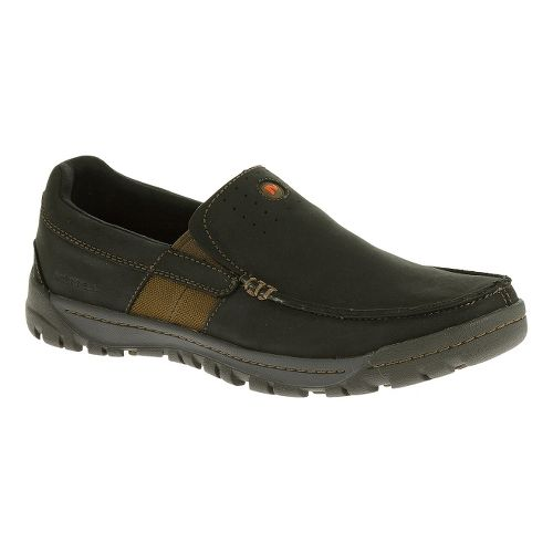 Mens Merrell Traveler Point Moc Casual Shoe - Black 8