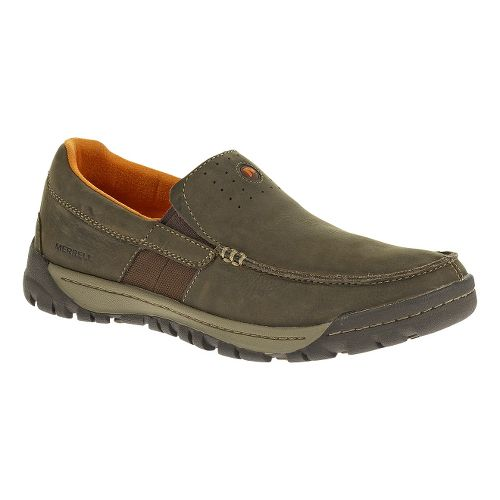 Mens Merrell Traveler Point Moc Casual Shoe - Falcon 14