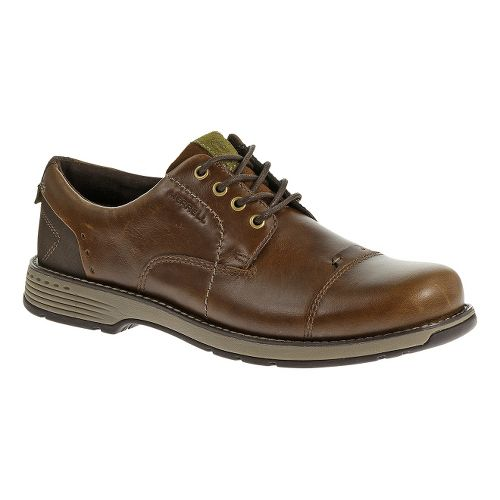 Mens Merrell Realm Loft Casual Shoe - Brown 13