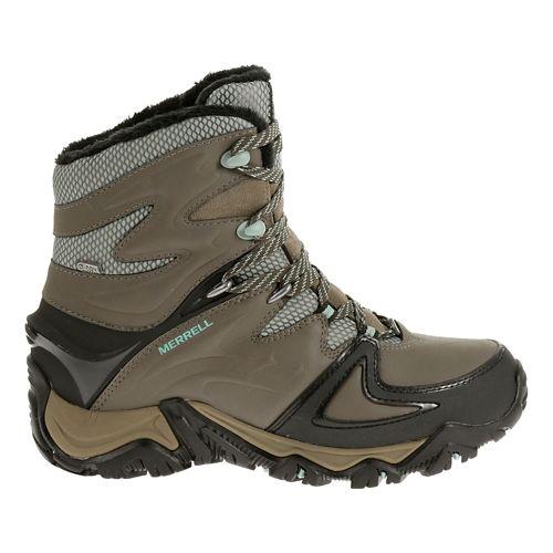 Womens Merrell Polarand 8 Waterproof Hiking Shoe - Boulder 7