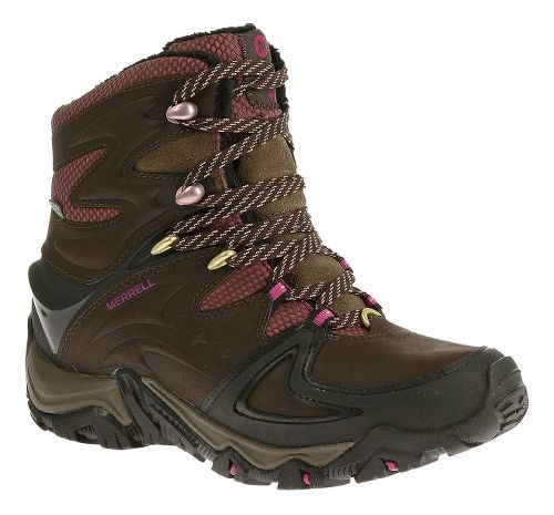 Womens Merrell Polarand 8 Waterproof Hiking Shoe - Espresso 10