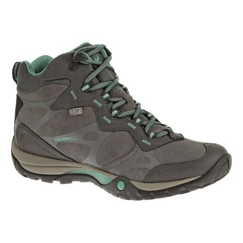 Womens Merrell Azura Carex Mid Waterproof Hiking Shoe - Castlerock 7.5