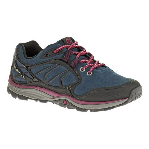 Womens Merrell Verterra Hiking Shoe - Blue Moon/Rose 6.5