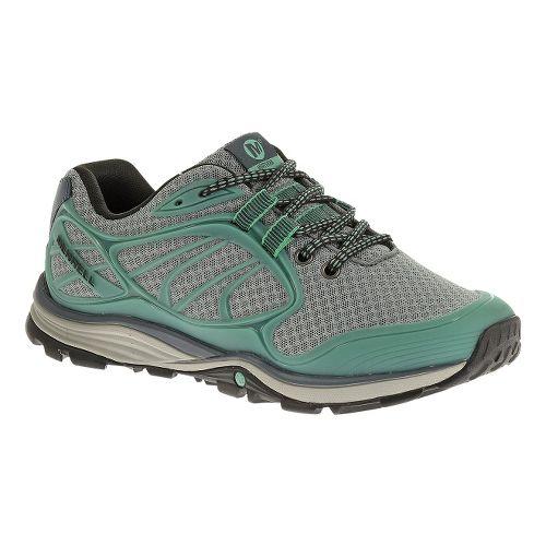 Womens Merrell Verterra Sport Hiking Shoe - Monument/Mineral 5