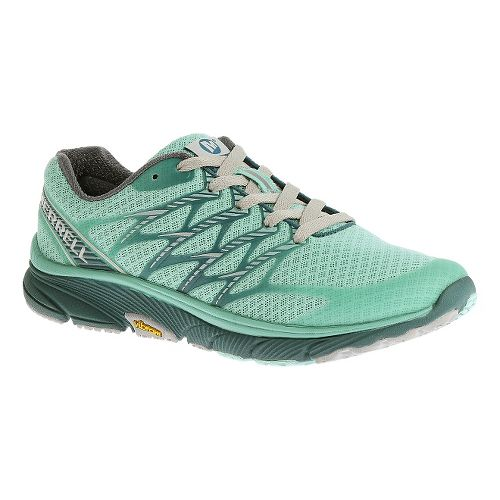 Womens Merrell Bare Access Ultra Running Shoe - Aqua 7.5