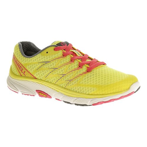 Womens Merrell Bare Access Ultra Running Shoe - Yellow 10.5