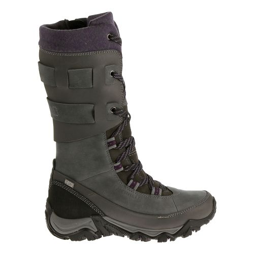 Womens Merrell Polarand Rove Peak Waterproof Casual Shoe - Granite 10