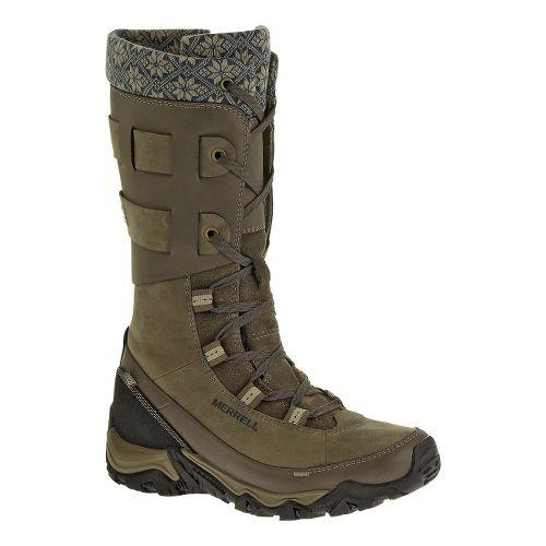 Womens Merrell Polarand Rove Peak Waterproof Casual Shoe - Boulder 6