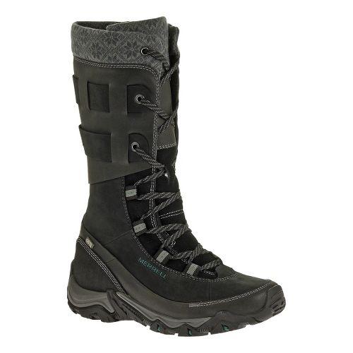 Womens Merrell Polarand Rove Peak Waterproof Casual Shoe - Black 6.5