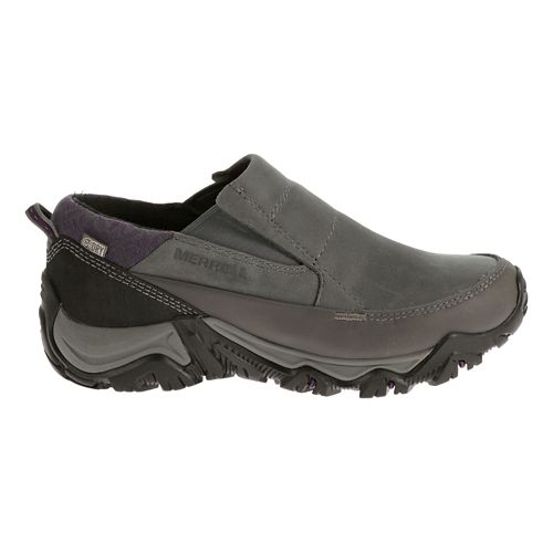 Womens Merrell Polarand Rove Moc Waterproof Casual Shoe - Granite 10