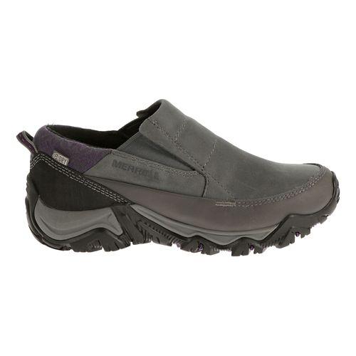 Womens Merrell Polarand Rove Moc Waterproof Casual Shoe - Granite 7.5