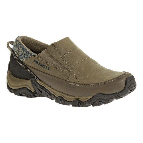 Womens Merrell Polarand Rove Moc Waterproof Casual Shoe - Boulder 6.5