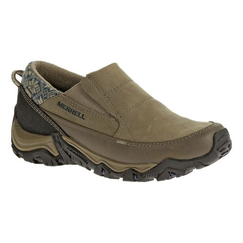 Womens Merrell Polarand Rove Moc Waterproof Casual Shoe - Boulder 7.5