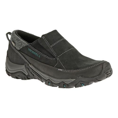 Womens Merrell Polarand Rove Moc Waterproof Casual Shoe - Black 6.5
