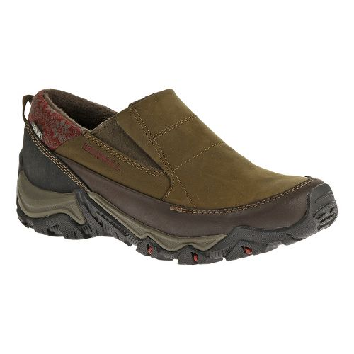 Womens Merrell Polarand Rove Moc Waterproof Casual Shoe - Black Slate 6.5