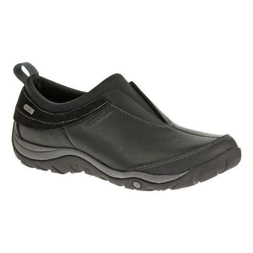 Womens Merrell Dewbrook Moc Waterproof Hiking Shoe - Black 10.5