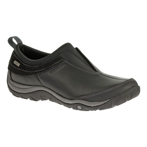 Womens Merrell Dewbrook Moc Waterproof Hiking Shoe - Black 9.5