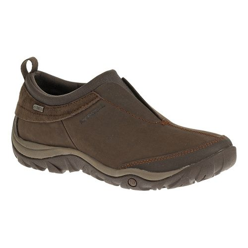 Womens Merrell Dewbrook Moc Waterproof Hiking Shoe - Brown 10.5