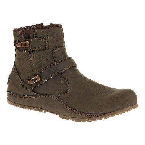 Womens Merrell Haven Duo Waterproof Casual Shoe - Brown 5