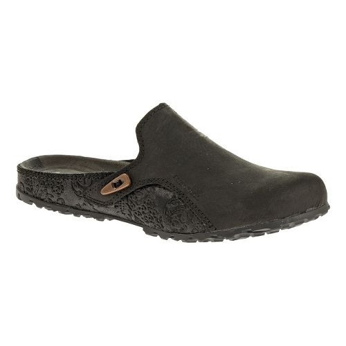 Womens Merrell Haven Slide Casual Shoe - Black 5