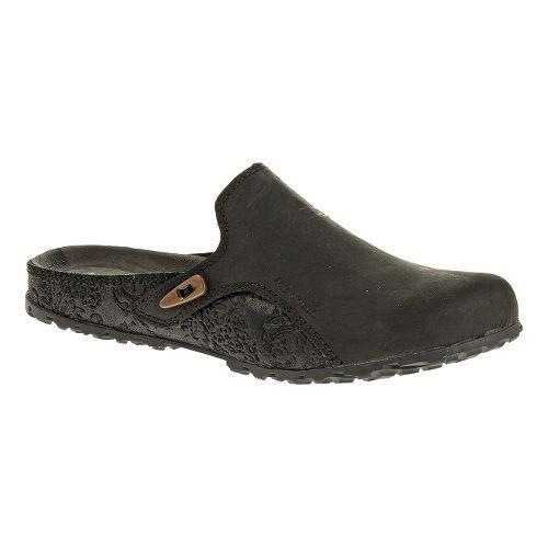 Womens Merrell Haven Slide Casual Shoe - Black 8.5