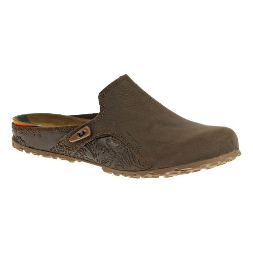 Womens Merrell Haven Slide Casual Shoe - Brown 6.5