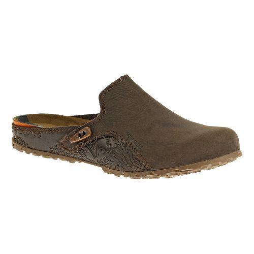 Womens Merrell Haven Slide Casual Shoe - Brown 6.5