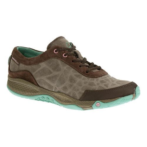 Womens Merrell AllOut Leap Casual Shoe - Espresso 8