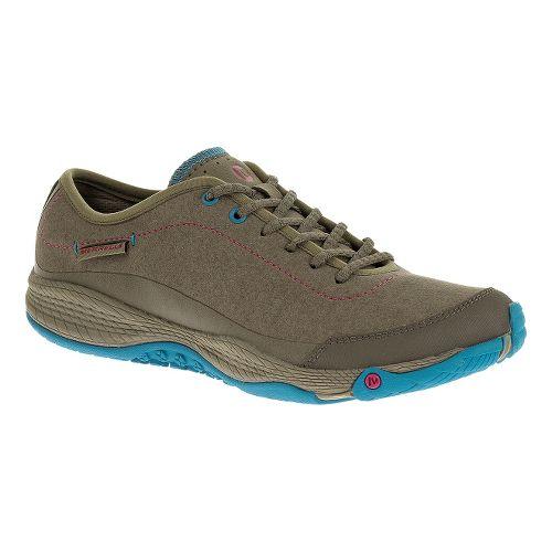 Womens Merrell AllOut Burst Casual Shoe - Boulder 6.5