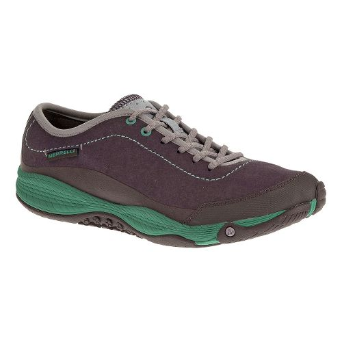 Womens Merrell AllOut Burst Casual Shoe - Plum 9.5