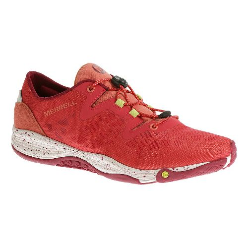 Womens Merrell AllOut Shine Casual Shoe - Geranium 5