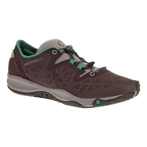 Womens Merrell AllOut Shine Casual Shoe - Plum 8