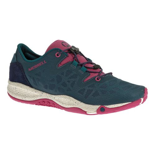 Womens Merrell AllOut Shine Casual Shoe - Monument 8