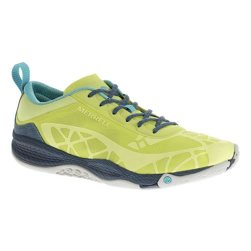 Womens Merrell AllOut Soar Casual Shoe - Sunny Lime 10