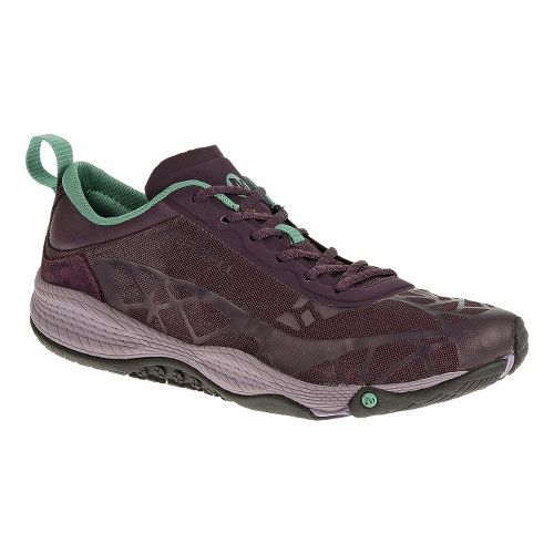 Womens Merrell AllOut Soar Casual Shoe - Plum Perfect 5
