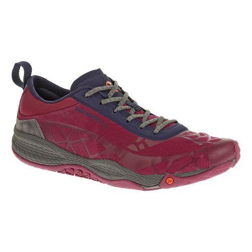 Womens Merrell AllOut Soar Casual Shoe - Wine 10.5