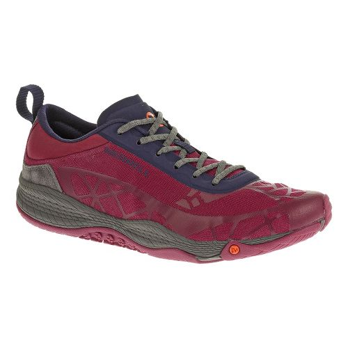 Womens Merrell AllOut Soar Casual Shoe - Wine 6