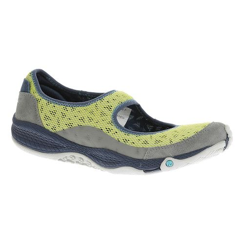 Womens Merrell AllOut Bold Casual Shoe - Sunny Lime 5