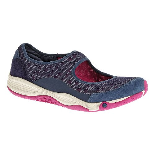 Womens Merrell AllOut Bold Casual Shoe - Blue Wing 5